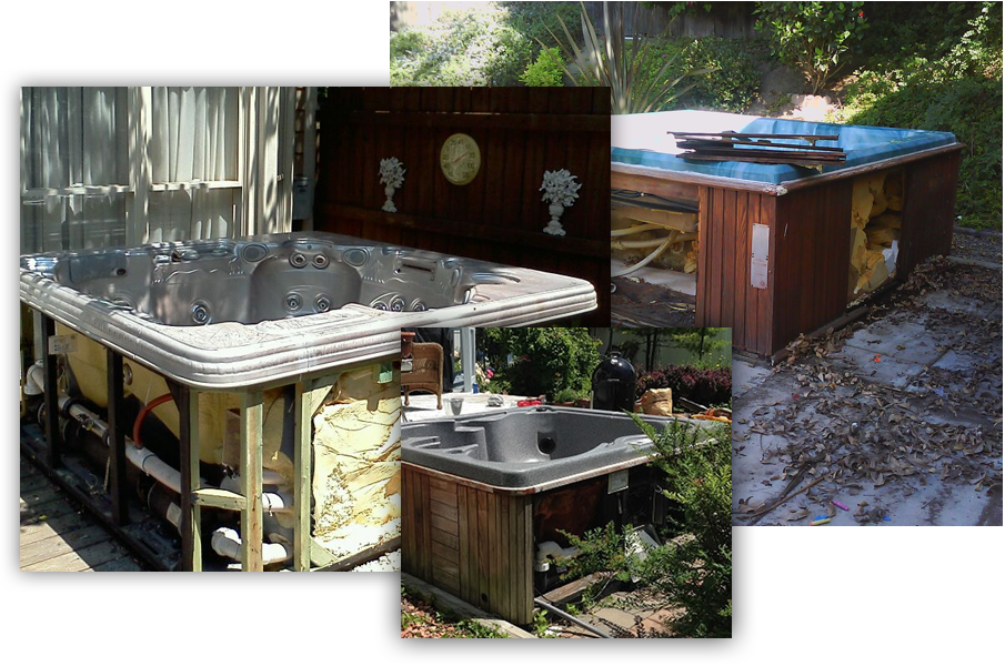 Hot Tub Removal - Hot Tub Removal Morgan Hill