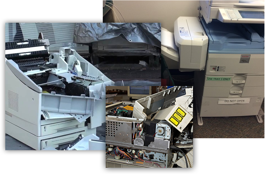Printer Recycling 2 - Printer Recycling Monte Sereno