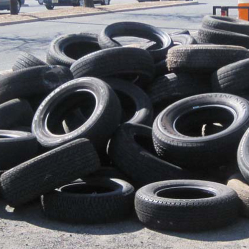 Tire Recycling and Disposal Experts | Flat Rate Junk Removal NY