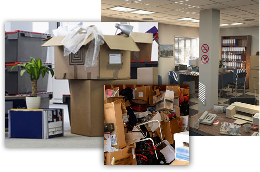 keep office clean and tidy - Office Cleanouts Milpitas