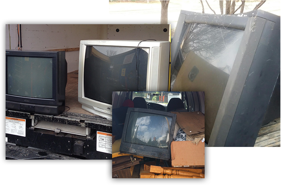 tv recycling for cash - TV Removal Los Gatos